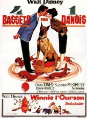 4 bassets pour 1 danois / The.Ugly.Dachshund.1966.720p.WEB-DL.DD5.1.H264-FGT